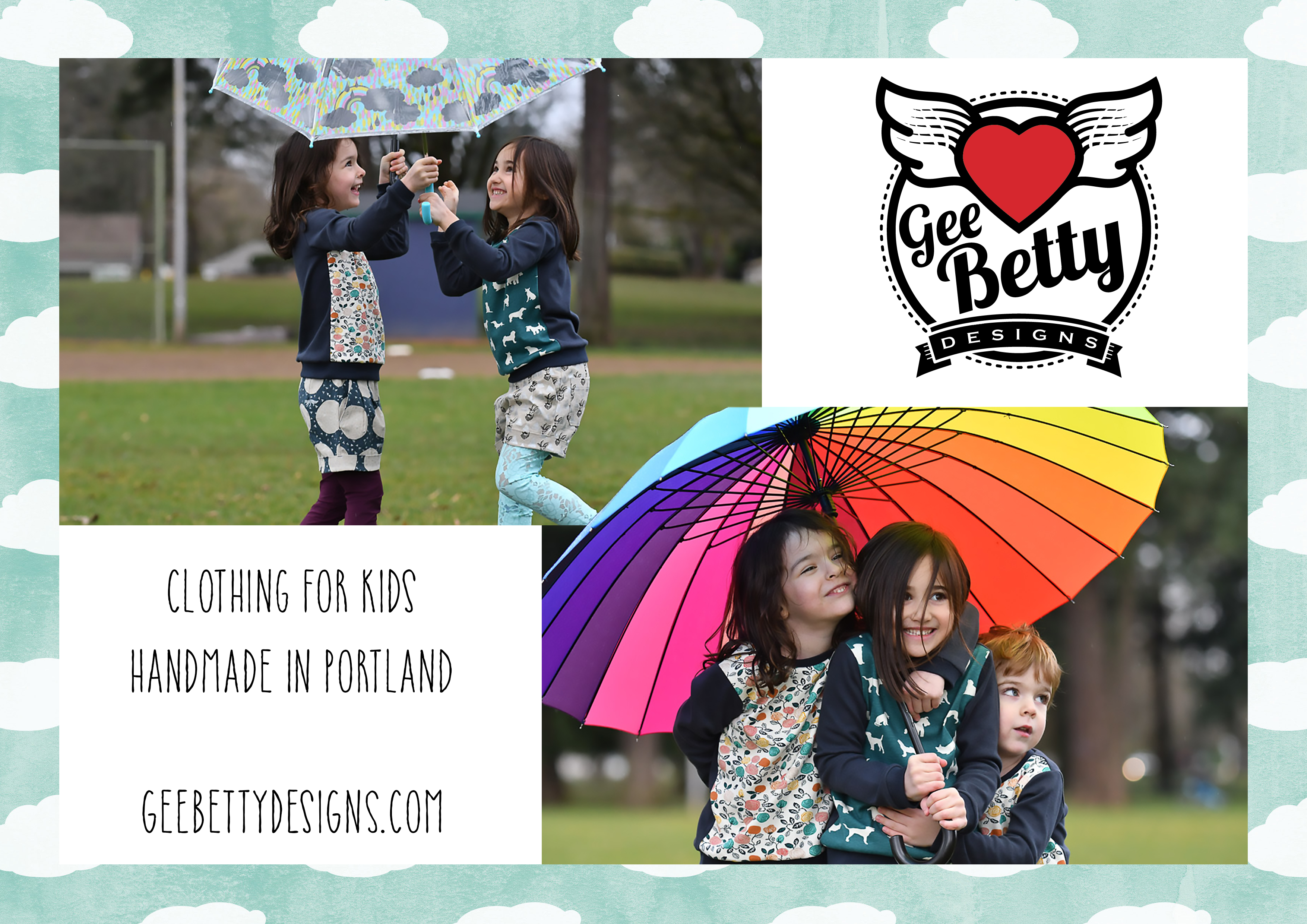 Gee Betty Design Print Ad